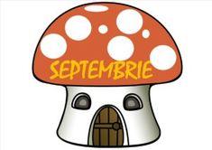 Calendarul zilelor de naștere. Lunile anului pe ciupercuțe Stuffed Mushrooms, Preschool, Calendar, Fictional Characters, Art, Stuff Mushrooms, Art Background, Kid Garden, Kunst