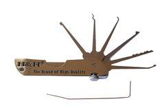 Kit de ganzúas de bolsillo (navaja suiza). 5 unidades. Este setde ganzúas para bolsillo permite llevar 5 ganzúas para abrir todas las cerraduras, a modo de navaja suiza. Arsenal, Ceiling Fan, Kit, Hair Accessories, Decor, Swiss Army Knife, Pockets, Bricolage, Ceiling Fans