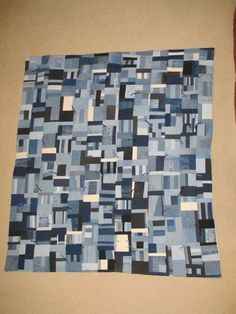 blue jean quilts - Google Search