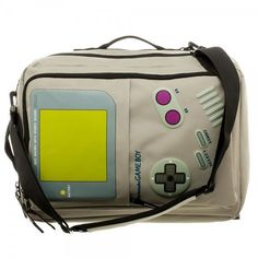 Nintendo Game Boy Convertible Backpack Computer Laptop Messenger Bag Tote  Laptop Messenger Bags 9a905910f5d27