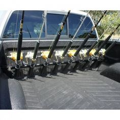 Truck Fishing Rod Rack | Sport Fishing Roundup