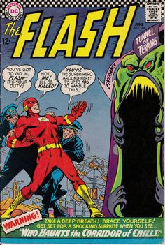 Flash 1959 1st Series DC 162 June 1966 Issue DC by ViewObscura, $8.00