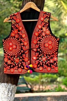 Ethnic Jackets & Shrugs Classic Cotton Jacket  *Fabric* Cotton   *Sleeves* Sleeves Are Not Included   *Size* S - 36 in, M - 38 in, L - 40 in, XL - 42 in   *Length* Up to 20 in   *Type* Stitched   *Description* It Has 1 Piece of Jacket   *Work* Kutchi Work  *Sizes Available* S, M, L *   Catalog Rating: ★4.2 (162)  Catalog Name:  Kutchian Fancy Jackets Vol 1 CatalogID_10484 C74-SC1008 Code: 093-106018-