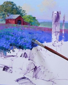 As I was working on Forever Texas for our Fredericksburg Galley several of you asked if I was going to paint some Bluebonnets for eBay. I'm pretty well-trained, I do as I'm told. So YES…