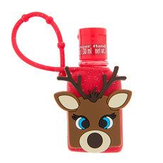 Reindeer Holder with Anti-Bacterial Hand Sanitizer Baby Doll Nursery, Baby Girl Toys, Neon Party Decorations, Woven Laundry Basket, Halloween Acrylic Nails, Kids Area Rugs, Crochet Case, Flavored Lip Gloss, Cute Keychain