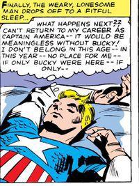 Poor Steve. He's missing his soulmate