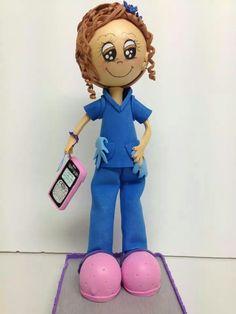 Fofucha enfermera.