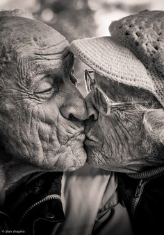 Photo 73 years of marriage and still smooching by Alan Shapiro on 500px