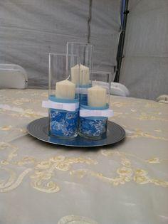 Centros de mesa bautizo