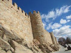 Walking the Cold Walls of Avila and Enjoying the Sunshine