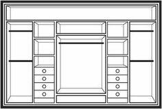 Waratah Wardrobe Company Designs Page Bedroom Closet Design, Bedroom Wardrobe, Wardrobe Closet, Wardrobe Design, Built In Wardrobe, Closet Designs, Master Closet, Closet Space, Basement Closet