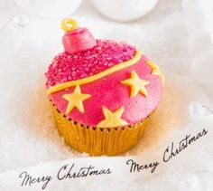 Christmas Cupcakes, Christmas Desserts, Christmas Crafts, Xmas, Cupcake Cookies, Mini Cakes, Holidays And Events, I Love Food, Brunch