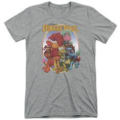 The Muppets Group Hug Soft Adult Tri Blend T-Shirt