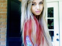 I'm going to dye my hair like this