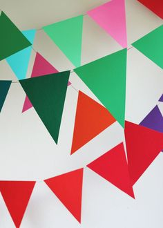 How To Make Giant Bunting | Julep