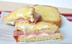 Croques-monsieur WW, recette d'un délicieux sandwich gratiné au four facile et rapide à réaliser pour un repas accompagné d'une bonne salade.