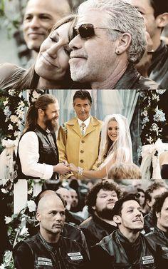 Opie and Lyla's wedding!! ♊️ #SOA