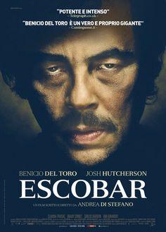 Escobar Directed by Andrea Di Stefano with Benicio Del Toro, Josh Hutcherson, Brady Corbet, Claudia Traisac, Carlos Bardem