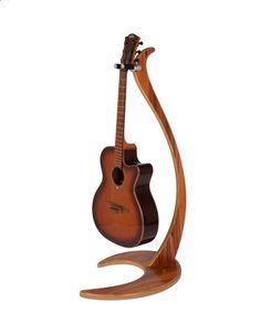 Dragon One Design Guitar Stand Tineo - Bulldog Music Gear Violin Stand, Ukulele Stand, Music Themed Rooms, Wooden Guitar Stand, Guitar Storage, Music Furniture, Guitar Hanger, Craftsman Furniture, Guitar Accessories