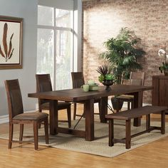 Found it at Wayfair - Piumafua Dining Table
