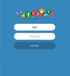 Social Blue - Free Themes to Mikrotik Hotspot
