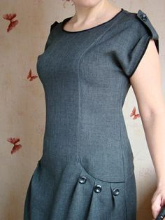 Dress Sewing Patterns, Dressmaking, Couture, Tops, Dresses, Amazing, Women, Ideas, Fashion