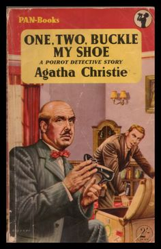 One, Two, Buckle my Shoe by Agatha Christie.  Pan edition, 1957.