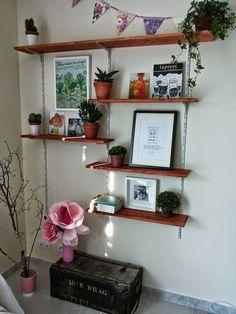 Simple things: DIY une étagère à crémaillère