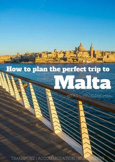 Would you like to visit Malta but planning the trip is giving you a headache? Find out everything you need to know to have the perfect holiday in Malta. Read how to get to Malta, where to stay and how to get around the island Malta Valletta, Oh The Places You'll Go, Cool Places To Visit, Places To Travel, Europe Travel Tips, European Travel, Budget Travel, Travel Guides, Malta Vacation
