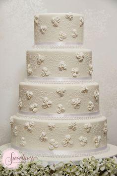 Wedding Cake. Carly Crystal Cake. www.sweetnessonline.co.uk | Flickr – Compartilhamento de fotos!