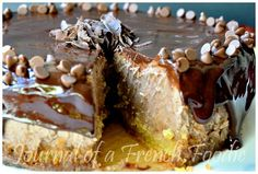 Thermomix #varoma steamed #chocolate chestnut #cheesecake from @Nora Kaci (Journal of a French Foodie)