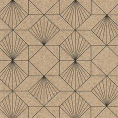 Halcyon Sand Geometric Wallpaper