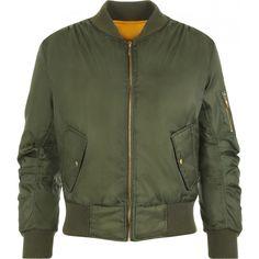 Lain Zip Bomber Jacket