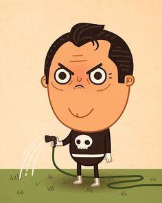 Artista Mike Mitchell Estilo Marvel Cartunesco   Nerd Da Hora