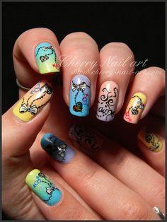 nail art mariage pour tous