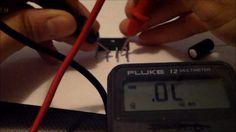 How to test capacitors, resistors, ICs, transistors, resistors, diodes, ...