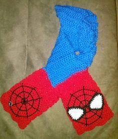spiderman scarf - Google Search