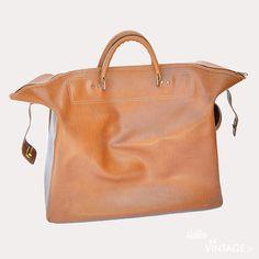 Grand sac vintage simili cuir camel  - Hello Vintage Shop - Meubles, objets, decoration, mode, jouets vintage et (re) - creations pour petits et grands enfants - www.hellovintage.fr