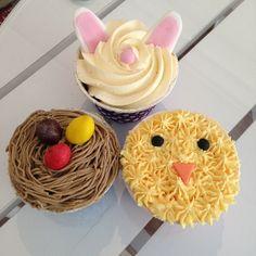 More Easter goodies  #cupcake #bunny #ägg #handemade #homemade #hembakat #fika #easter #påsk #dessert #efterrätt #snack #fint #gott #yummy #delicious #gottigottgott #instafood #instagood #frosting #göteborg #linné #gbgftw