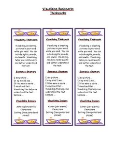VISUALIZING PACKAGE - ACTIVITIES TO USE FOR ANY TEXT - TeachersPayTeachers.com
