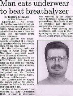 Funny Headlines of Newspapers