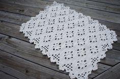 Flower Crochet Rug