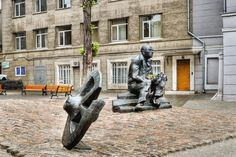 Памятник И. Э. Бабелю