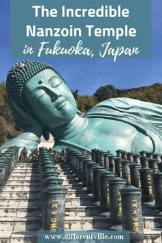 If you're visiting Fukuoka, Japan, then add the amazing Nanzoin Temple to your list of things to see in Fukuoka. It's completely incredible. Here's why and how to get to Nanzoin Temple from Hakata station. Fukuoka Japan, Tokyo Japan, Japan Trip, Kyoto Japan, Cool Places To Visit, Places To Travel, Travel Destinations, Japan Travel Guide, Asia Travel