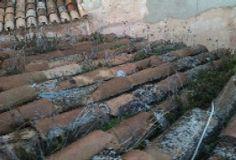 Reparando un tejado en Palma de Mallorca