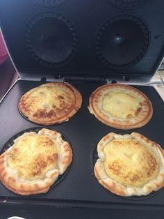 Quiche Lorraine made in a pie maker! #kmarthacks