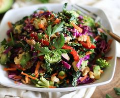 If you could take a multivitamin in food form, why wouldn't you? This is why you need to try the ultimate superfood salad from The Roasted Root. It is densely packed with vitamins A and C, folate, ...