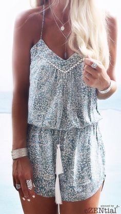 Summer fashion / boho gypsy style