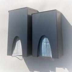 Maskenspender C-Mask, Maskenbox, Mask Dispenser aus Edelstahl Led, Bookends, Home Decor, Masks, Stainless Steel, Decoration Home, Room Decor, Home Interior Design, Home Decoration