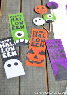Printable Halloween Bookmark